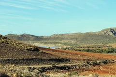 Paesaggio in Cabo de Gata fotografie stock libere da diritti