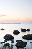 Paesaggio calmo dell'acqua Immagine Stock Libera da Diritti