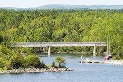 Paesaggio canadese Immagine Stock