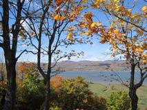 Paesaggio canadese del lato del paese fotografia stock