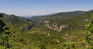 Paesaggio in Catalogna, Spagna Fotografia Stock Libera da Diritti