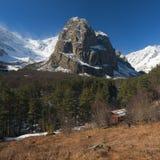 Paesaggio caucasico della montagna Fotografia Stock Libera da Diritti