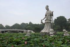 Paesaggio cinese Fotografie Stock