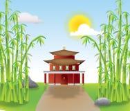 Paesaggio cinese Fotografie Stock Libere da Diritti