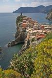 Paesaggio, Cinque Terre, Italia. Immagine Stock Libera da Diritti