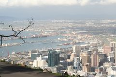 Paesaggio Città del Capo 1 del Sudafrica Immagini Stock Libere da Diritti