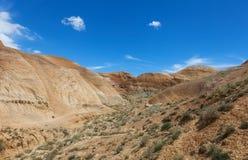 Paesaggio collinoso del deserto Immagine Stock Libera da Diritti