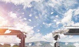 Paesaggio colourful della montagna di estate Fotografia Stock