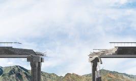 Paesaggio colourful della montagna di estate Immagini Stock