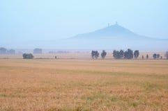 Paesaggio con il castello Fotografia Stock Libera da Diritti