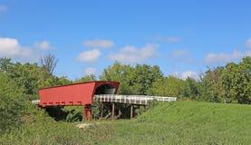 Paesaggio con il ponte di Roseman Immagine Stock