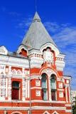 Paesaggio con il teatro ed il cielo blu storici Fotografia Stock Libera da Diritti