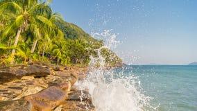 Paesaggio con la Tailandia Immagini Stock