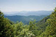 Paesaggio con le colline immagine stock libera da diritti