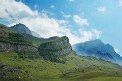 Paesaggio con le montagne Immagine Stock