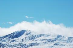 Paesaggio con le montagne Fotografia Stock Libera da Diritti
