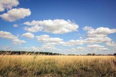 Paesaggio con le nuvole Immagine Stock Libera da Diritti