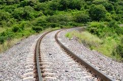 Paesaggio con railrod Fotografia Stock