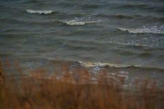 Paesaggio con una vista del mare Fotografie Stock