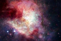 Paesaggio cosmico, carta da parati variopinta della fantascienza con spazio cosmico senza fine royalty illustrazione gratis