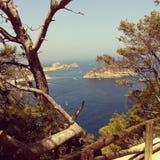 Paesaggio costiero Fotografia Stock