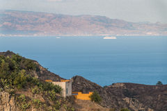 Paesaggio costiero Fotografie Stock