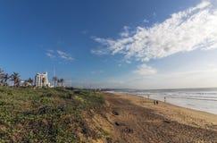 Paesaggio costiero della città a Durban Sudafrica Fotografia Stock
