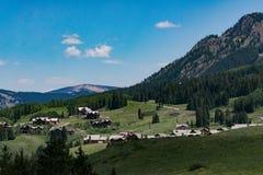 Paesaggio crestato della montagna di colorado della collina Immagine Stock Libera da Diritti