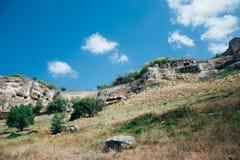 Paesaggio in Crimea Immagine Stock