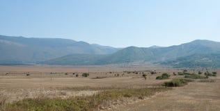 Paesaggio croato Fotografie Stock