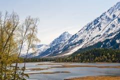 Paesaggio d'Alasca fotografia stock