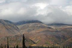 Paesaggio d'Alasca della montagna Fotografie Stock