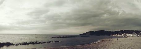 Paesaggio in d'Ischia di Forio, Italia Fotografia Stock