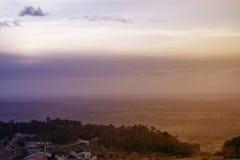 Paesaggio da Serra da Estrela immagine stock