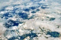 Paesaggio da sopra Immagine Stock Libera da Diritti