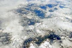 Paesaggio da sopra Fotografia Stock