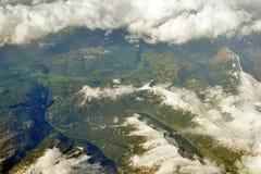 Paesaggio da sopra Immagini Stock