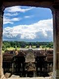 Paesaggio da un ventilatore Fotografie Stock