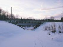 Paesaggio dal Canada Immagine Stock