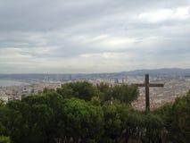 Paesaggio dal frioul di Marsiglia Immagine Stock
