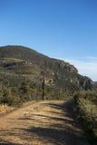 Paesaggio dal parco nazionale blu delle montagne Fotografie Stock Libere da Diritti