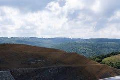 Paesaggio dall'alta vista Immagini Stock Libere da Diritti