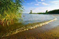 Paesaggio dall'isola di Usedom Fotografie Stock
