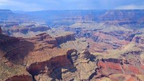 Paesaggio dall'orlo del sud di Grand Canyon, U.S.A. Immagini Stock