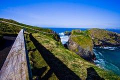 Paesaggio dalla contea Antrim Irlanda del Nord Regno Unito fotografie stock