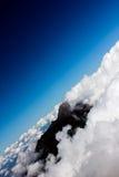 Paesaggio dalla montagna dell'Indonesia Immagine Stock