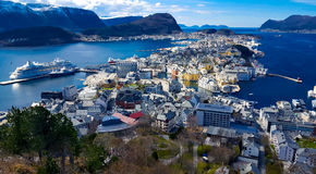 Paesaggio dalla Norvegia Immagine Stock Libera da Diritti