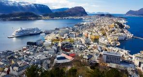 Paesaggio dalla Norvegia Fotografie Stock Libere da Diritti