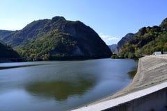 Paesaggio dalla vecchia valle, Romania Fotografie Stock Libere da Diritti