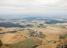 Paesaggio dalla vista aerea Fotografie Stock
